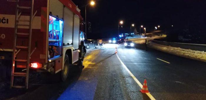 Dopravní nehoda – úklid vozovky